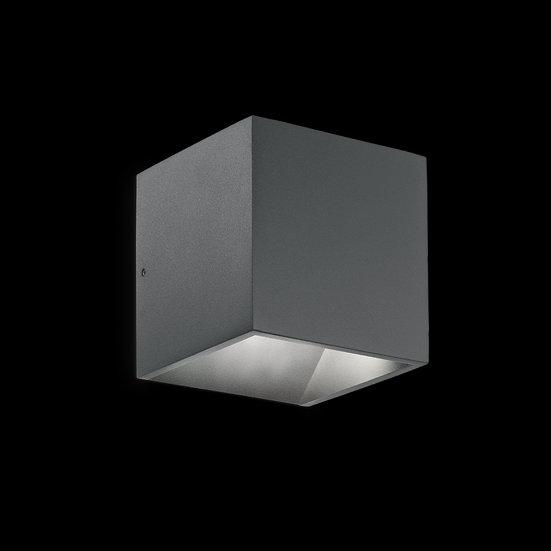 Applique Murale LED 'Gomméville' Anthracite 7W 670Lm 3000k IP44