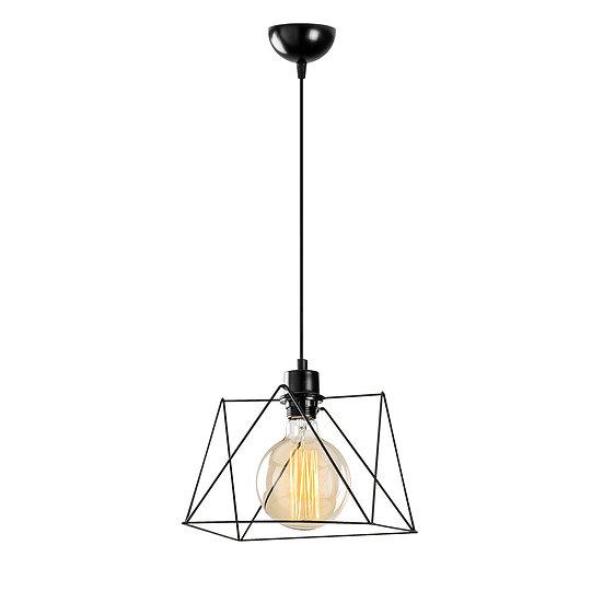 Suspension LED 'Bunus'Noir 1 x E27