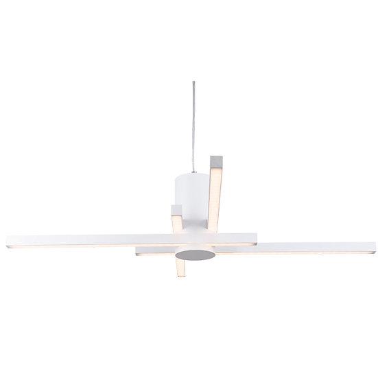 Suspension LED 'Fabas'Blanc 48W 2750Lm 3000K
