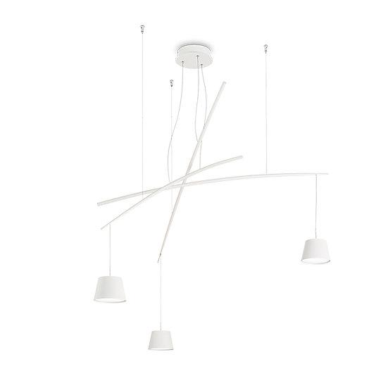 Suspension LED 'FISH' 3 Ampoules 18W