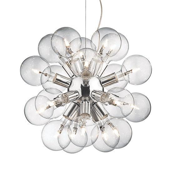 Suspension LED 'DEA' 20 xE27 Ampoules Fourni