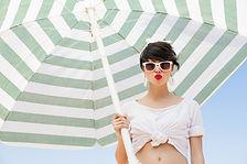 Beachwear Model