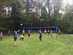 Youth Retreat Volleyball