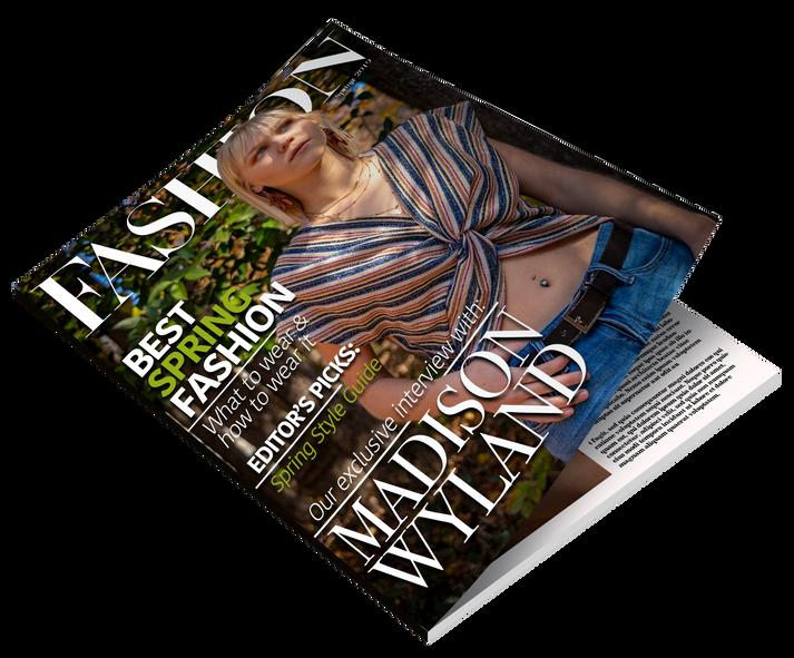 Fashion Magazine Mock Up