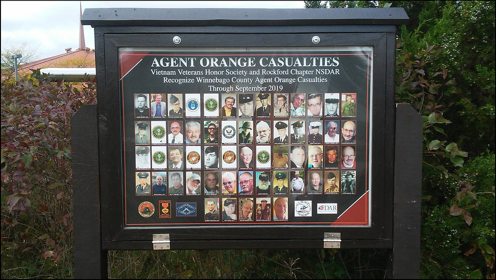 10-03-19 Agent Orange photo marqee, 2019