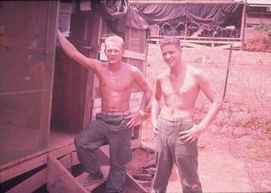 Marines Skip Coad & Ed Palumbo