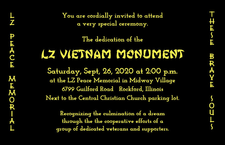 09-26-20 Gold Invitation LZ Vietnam Monu