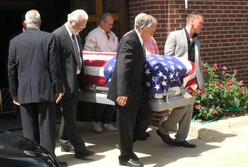 John Candiotta laid to rest.