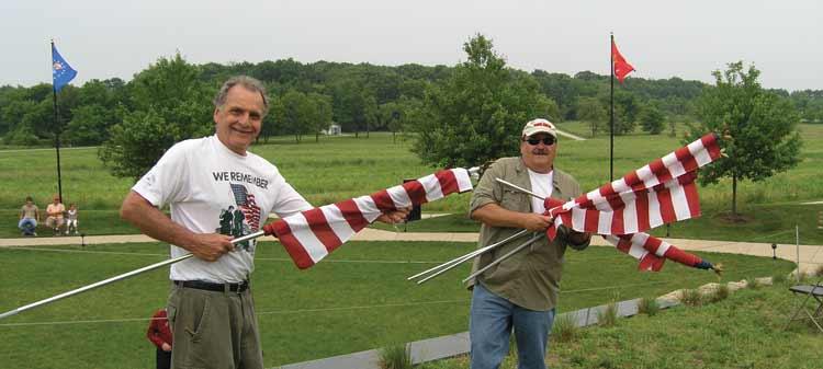 LZ, Tony, Vet, holding flags.jpg
