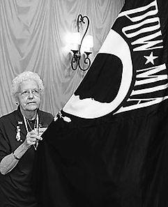 Dorothy Boyer, mother of SFC Alan Boyer, MIA