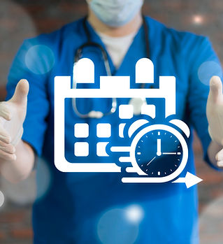 Doctor using virtual interface offers ca
