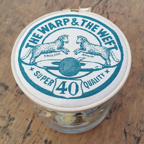 Large Storage Jar 'The Warp & The Weft'
