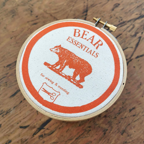 Small Storage Jar 'Bear Essentials'