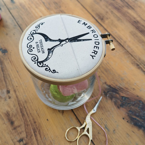 Embroidery Jar