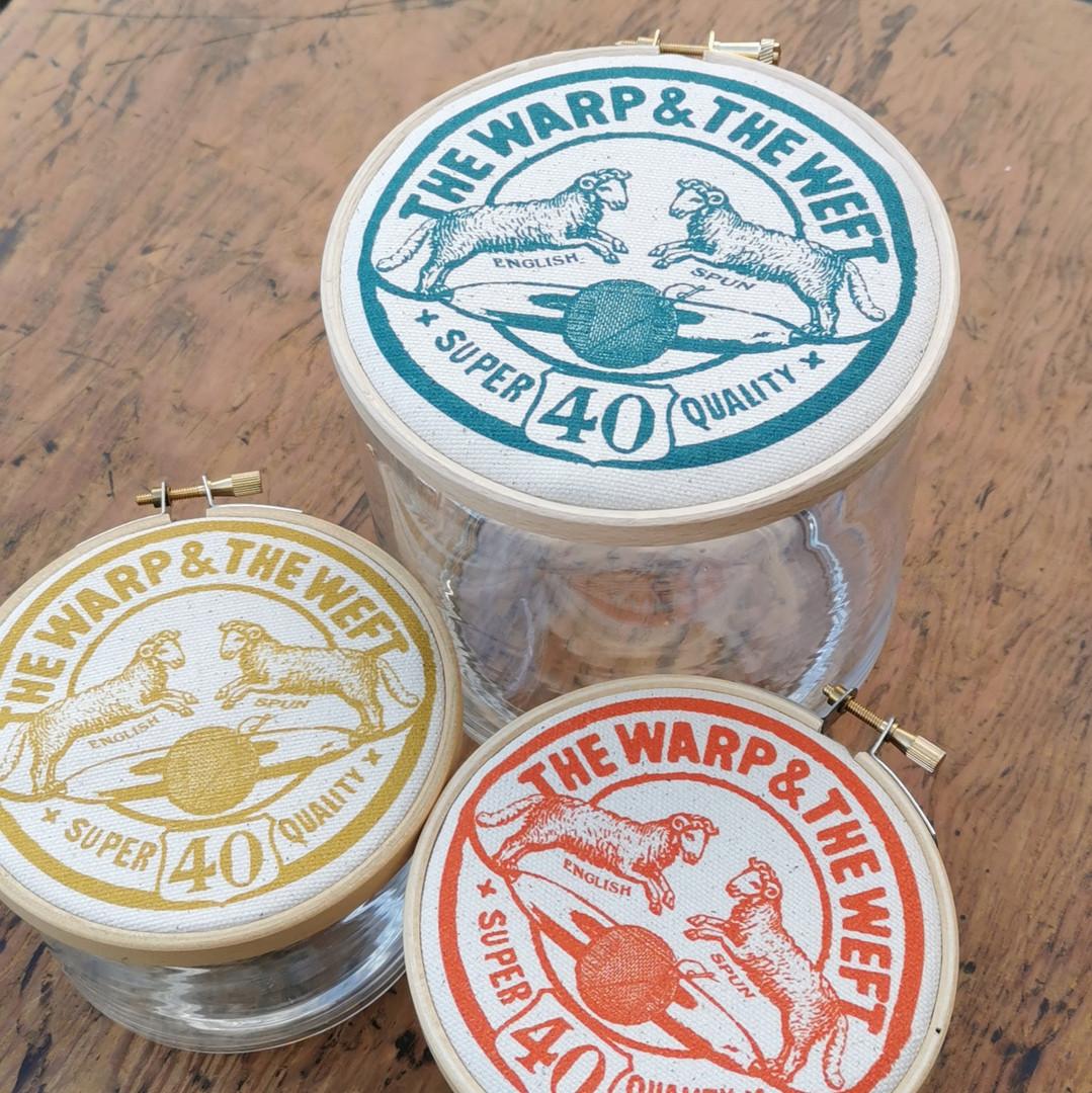 Storage Jar 'The Warp & The Weft'