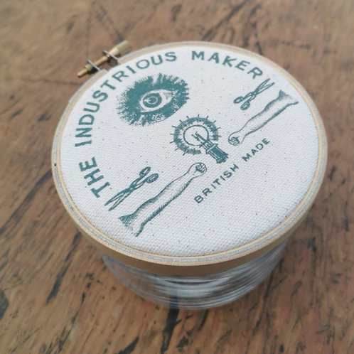 Small Storage Jar 'The Industrious Maker'