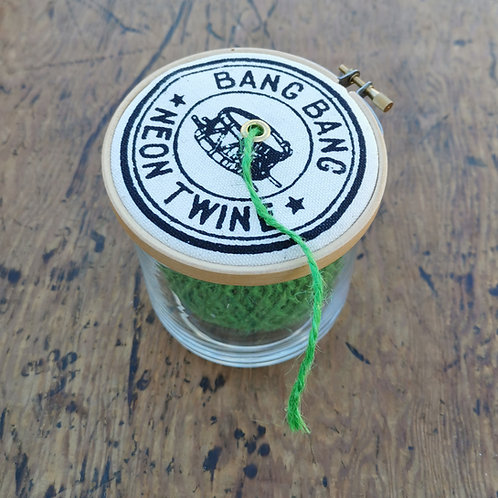 Neon Twine Dispenser 'Bang Bang'