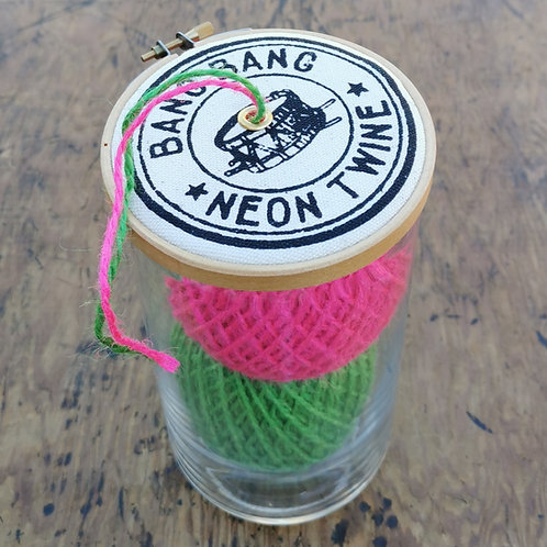 Double Neon Twine Dispenser 'Bang Bang'