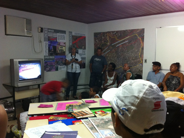 Asamblea and communication Saramandaia's participatory neighborhood plan. Ufba, Lugar comum