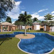 Bungalow resort in Barra Grande