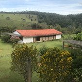 Family residence on a cocoa farm