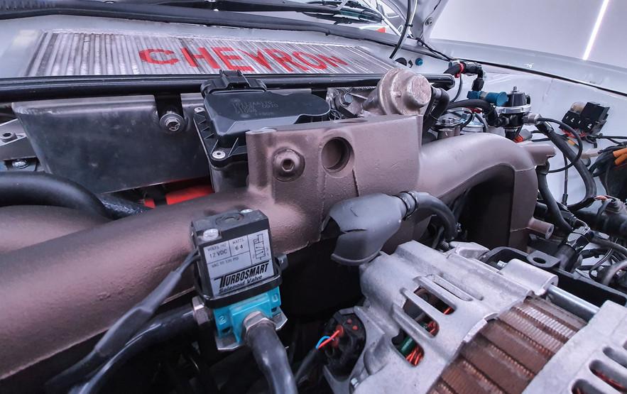 Turbosmart and Chevron engine shot.jpg