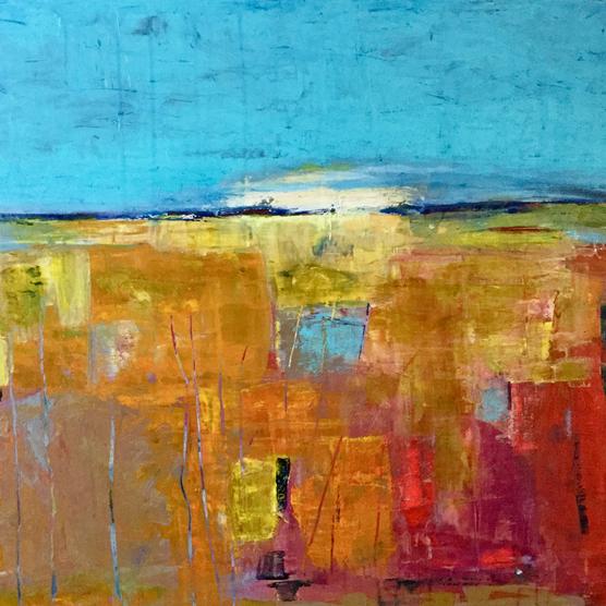 Landscape (turquoise)