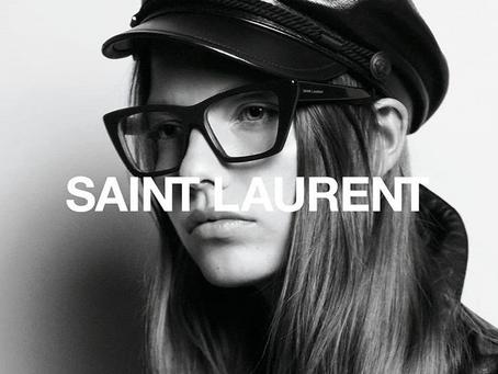 Optique Portal est distributeur officiel de la marque très prisée Saint Laurent à Bordeaux