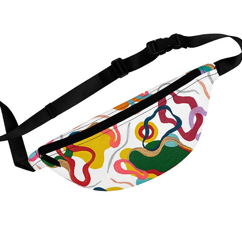 Colorful Abstract Art Pattern Fanny Pack