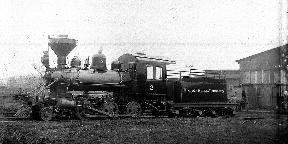 Rare Locomotive on Display