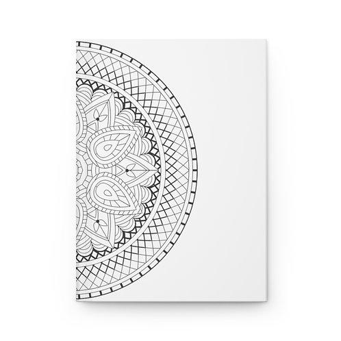 Aztec Sacred Geometry Hardcover Journal Matte