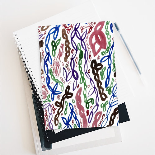 Abstract Art Pattern Journal Ruled Line