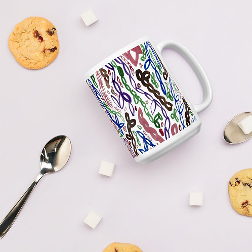 Abstract Art Pattern Mug