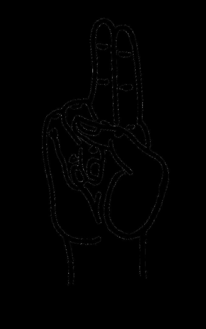 Prana Yoga Mudra Line Art