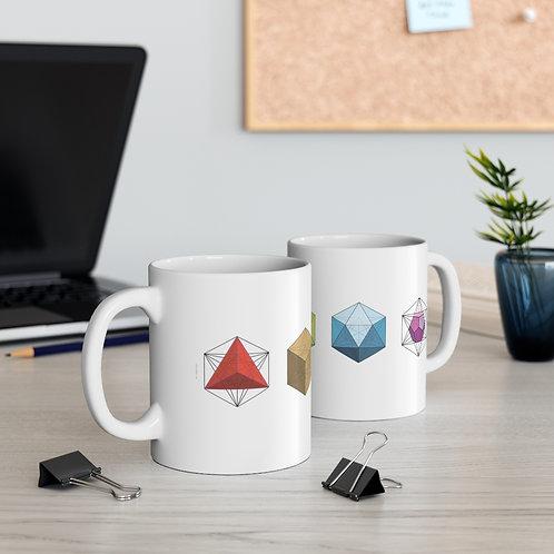 Shapes Sacred Geometry Ceramic Mug 11oz
