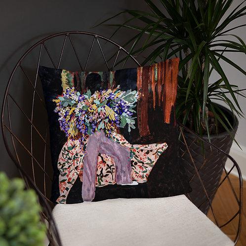 Femme & Her Soul's Bouquet Pillow