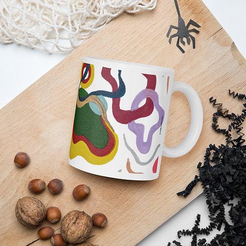 Colorful Abstract Art Pattern Mug