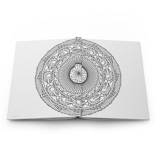 The Snail Sacred Geometry Hardcover Journal Matte