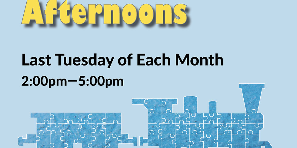 Sensory Friendly Afternoons - February