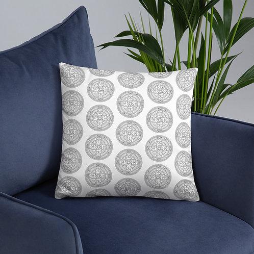 JEM COLLECTION Mandala Pattern Pillow