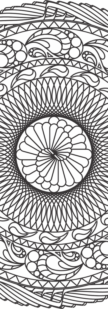 Sacred Geometry Mandala: The Snail