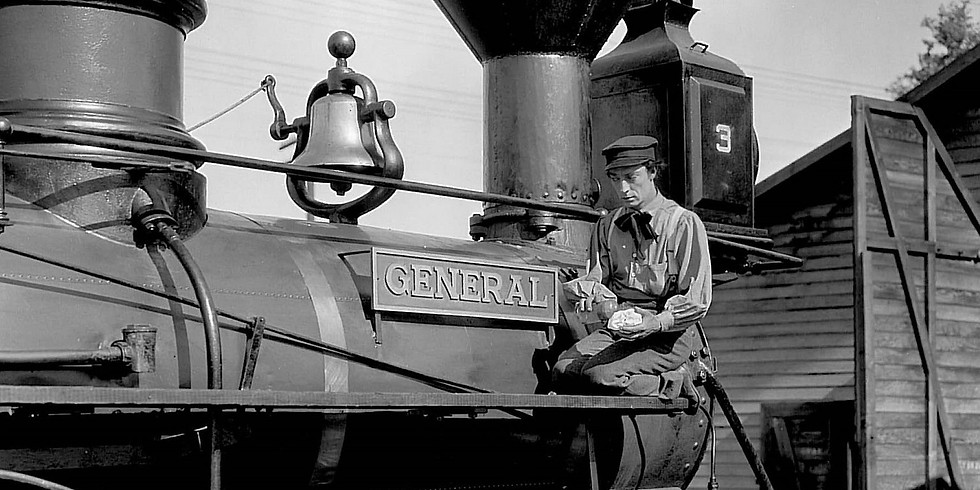 The General starring Buster Keaton (1pm)