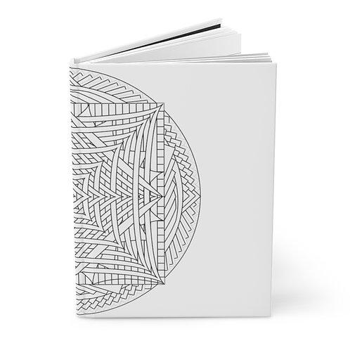 Infinite Mirror Sacred Geometry Hardcover Journal Matte