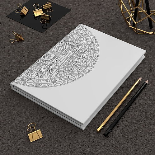 3D Elements Sacred Geometry Hardcover Journal Matte