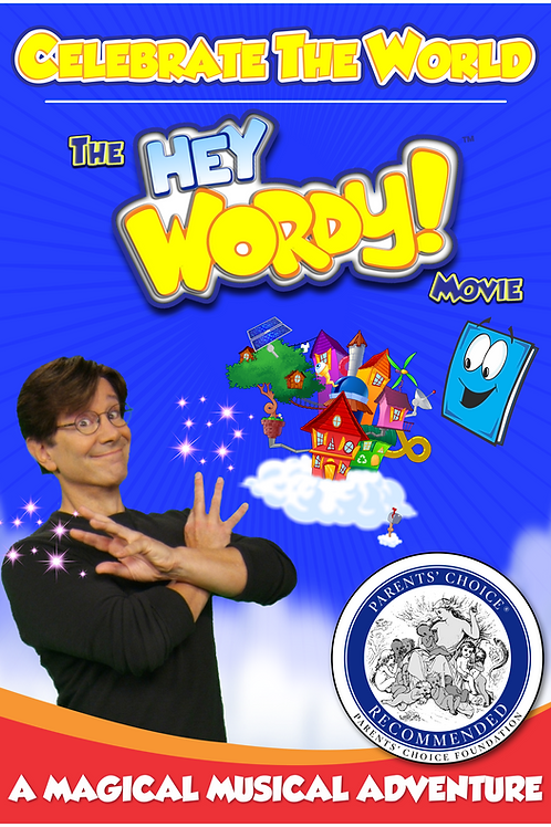 "Celebrate The World! - The ""Hey Wordy!"" Movie"