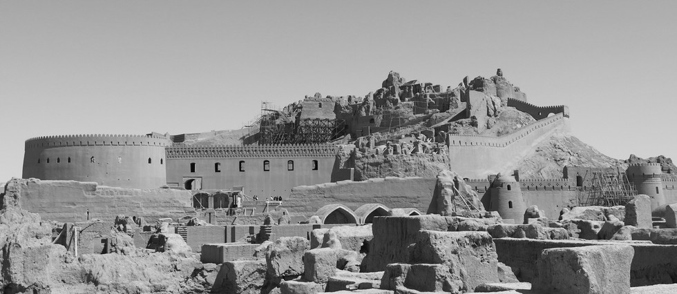 Bam Citadel after earthquake in 2014 (photo by Hadi Karimi)