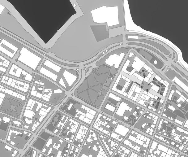 Buildings footprint