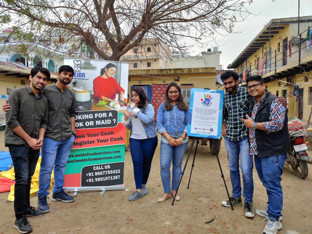 PERSONALITY DEVELOPMENT WORKSHOP WITH HOUSEHELPERS