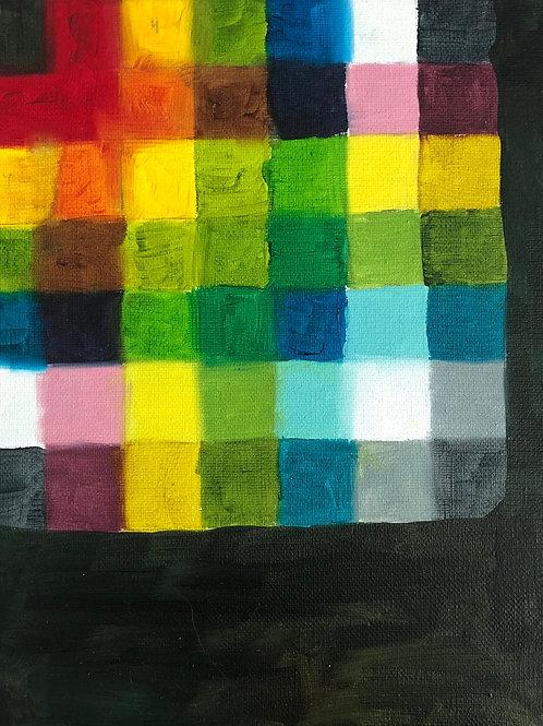 Oil Paint Color Study