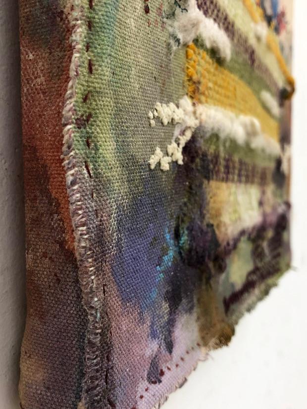 Weaving//Painting Detail